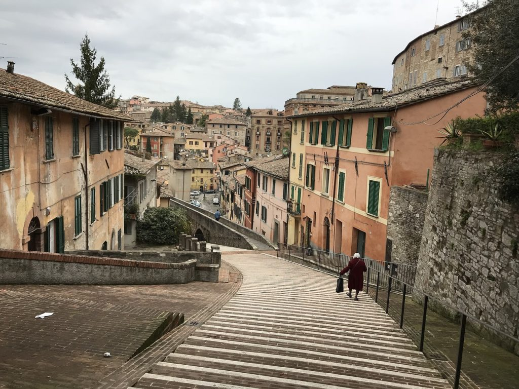studying in Perugia