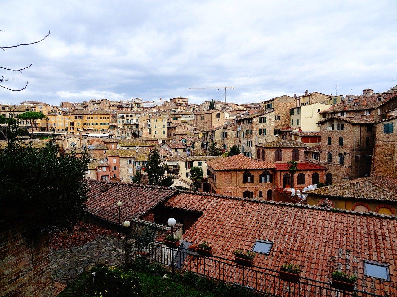 Habitaciones para estudiantes en Siena